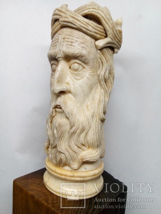 Статуетка з кості ,,Memento mori,,, фото №5