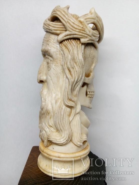 Статуетка з кості ,,Memento mori,,, фото №7