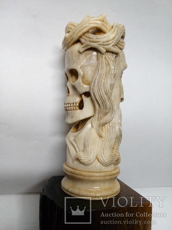 Статуетка з кості ,,Memento mori,,, фото №9