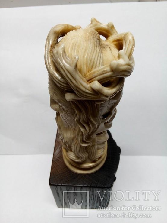 Статуетка з кості ,,Memento mori,,, фото №11