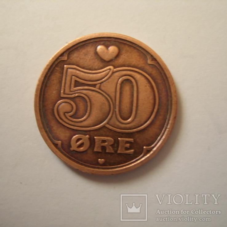 Дания 50 эре 2003 года., фото №4