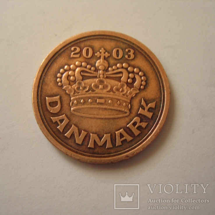 Дания 50 эре 2003 года., фото №6