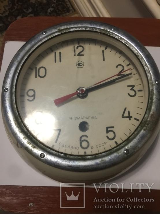 Корабельные часы СССР антимагнитные, фото №2