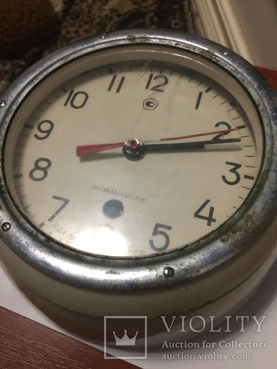 Корабельные часы СССР антимагнитные, фото №3