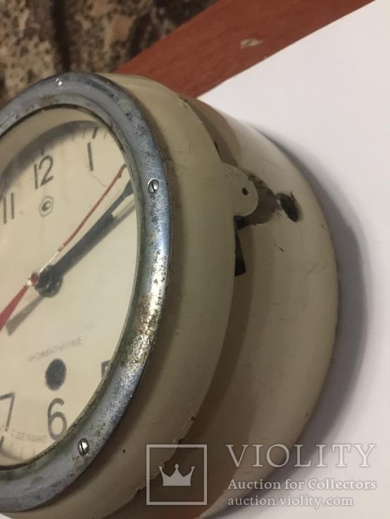 Корабельные часы СССР антимагнитные, фото №6
