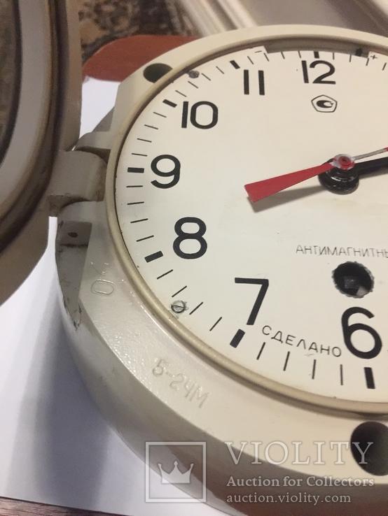 Корабельные часы СССР антимагнитные, фото №9