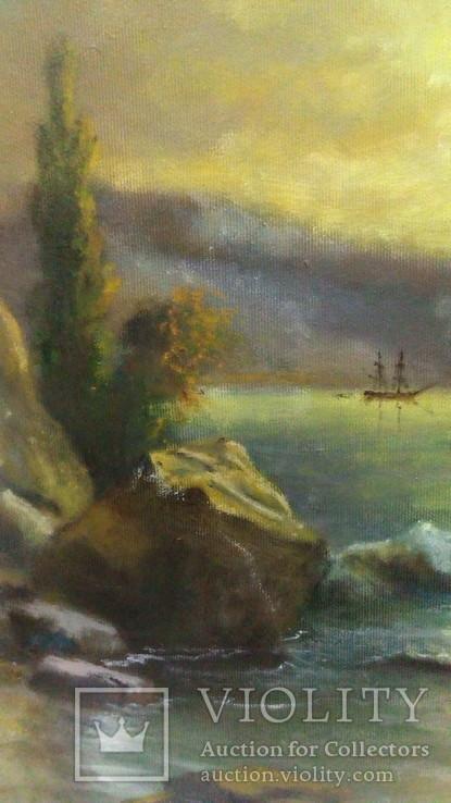 Морской пейзаж., фото №8