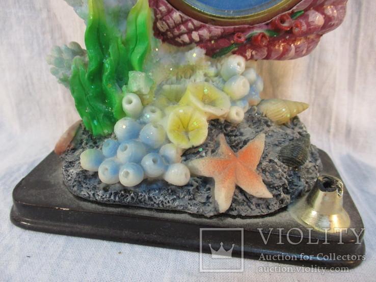 Часы и статуэтка Дельфины, фото №4