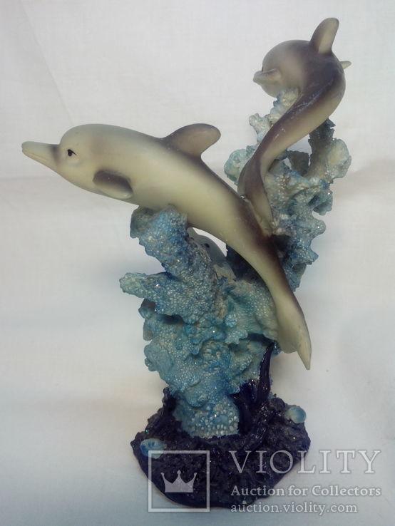 Часы и статуэтка Дельфины, фото №8