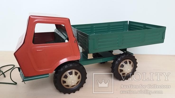 Игрушка самосвал грузовик металлический СССР., фото №2