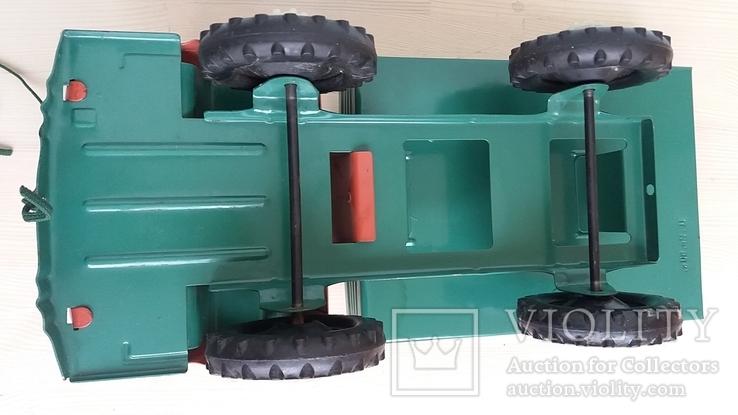 Игрушка самосвал грузовик металлический СССР., фото №6