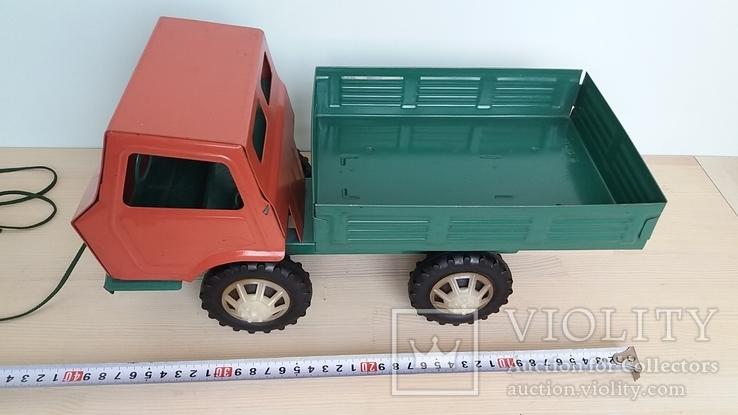 Игрушка самосвал грузовик металлический СССР., фото №12