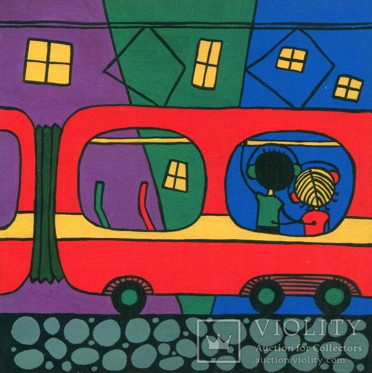 Открытки Украина Львов кофе трамваи, фото №4