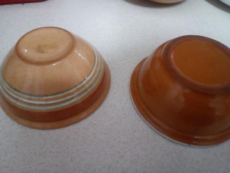 4 глибокі розписні тарілки, фото №3