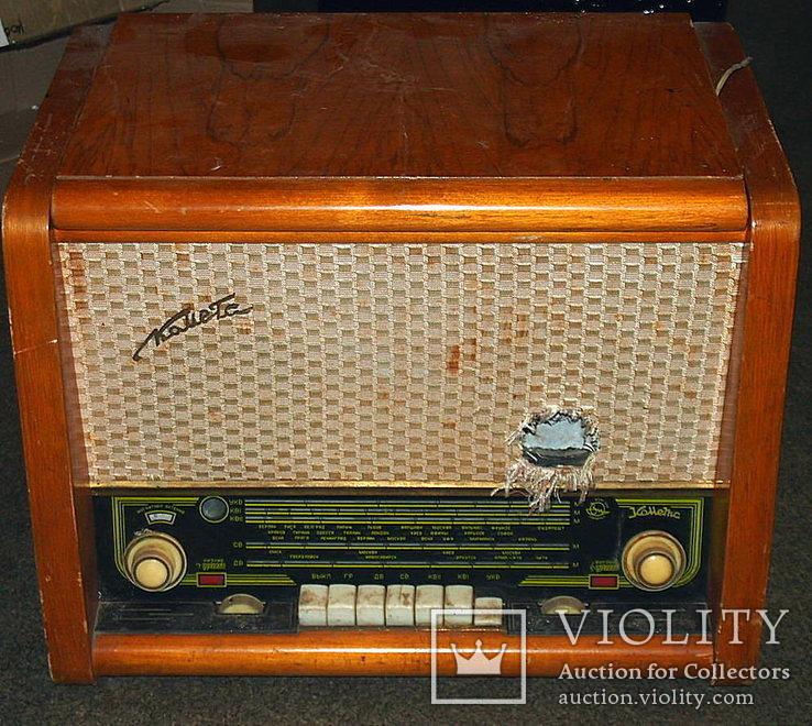 Радиола, радиоприёмник КОМЕТА., фото №2