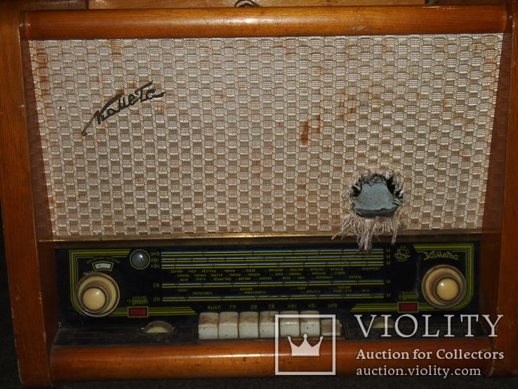 Радиола, радиоприёмник КОМЕТА., фото №5