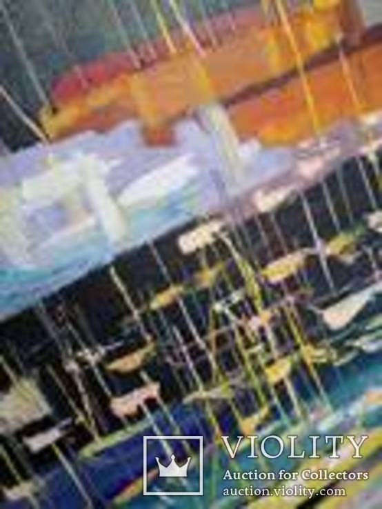 "Картина ""Замок"" масло, холст 40*60 см, фото №4"