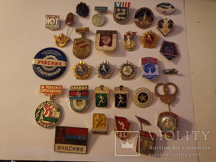 Набор значков (разные), фото №2