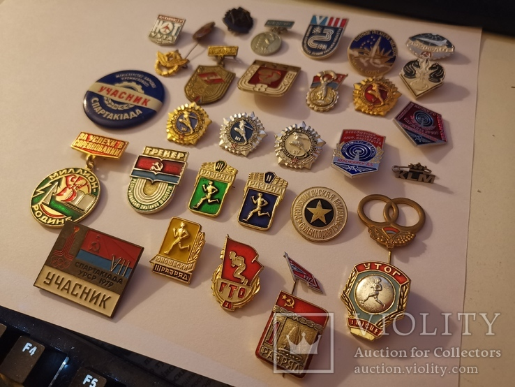 Набор значков (разные), фото №3