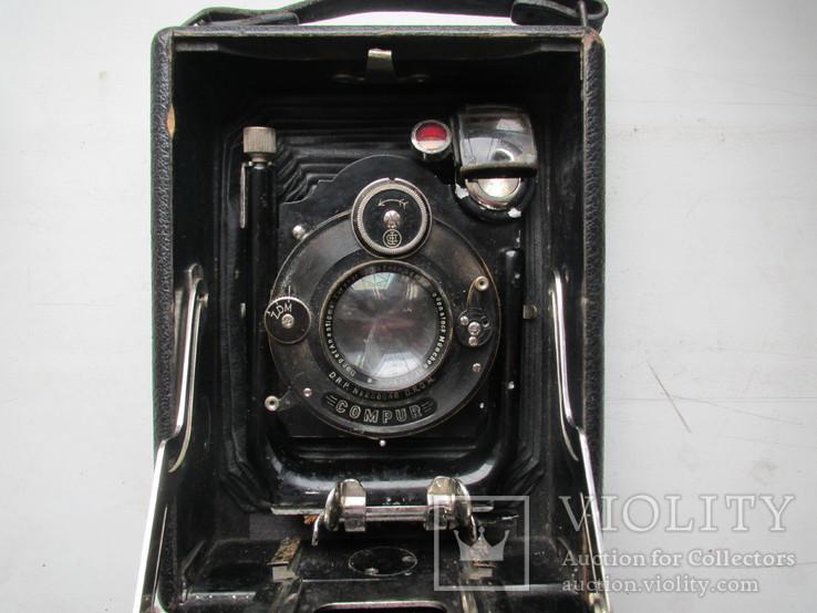 Старый немецкий фотоаппарат