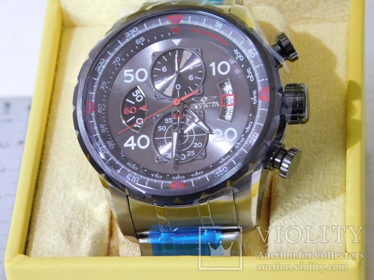 Invicta Aviator chronograf, фото №3