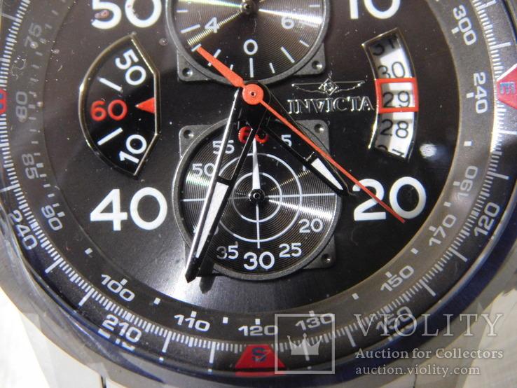 Invicta Aviator chronograf, фото №7