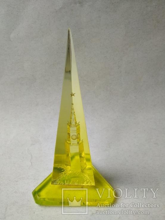 Настольный стела Спасская башня кремль СССР 60-е гг., фото №6
