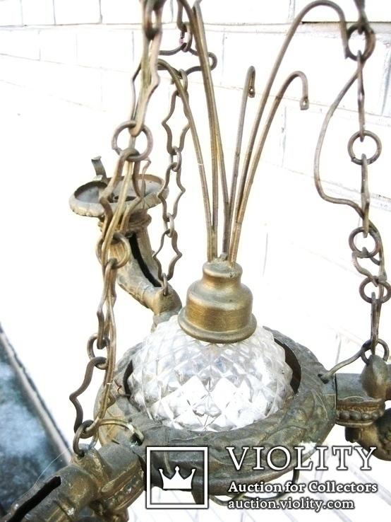 Стара люстра в реставрацію №-1, фото №6