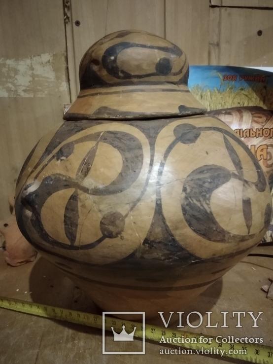 Горшок ТК с родной крышкой, фото №2