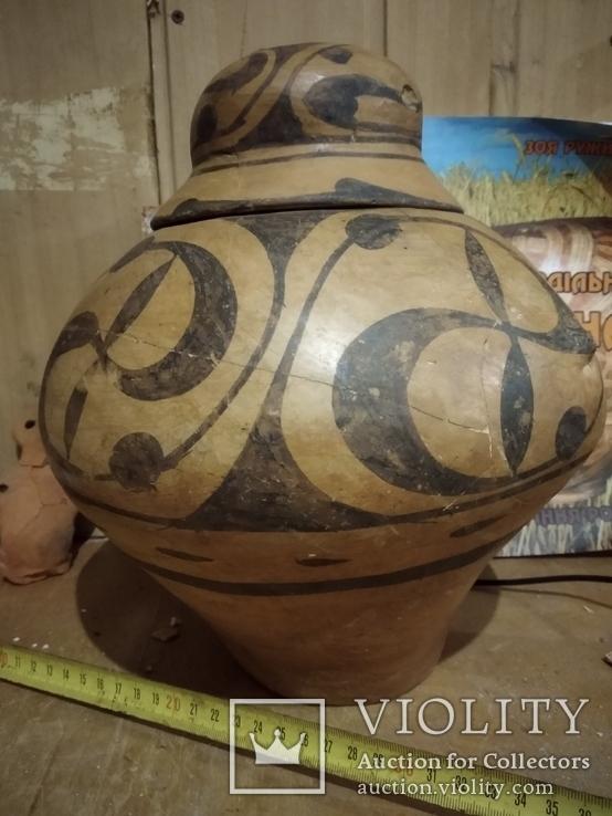 Горшок ТК с родной крышкой, фото №3