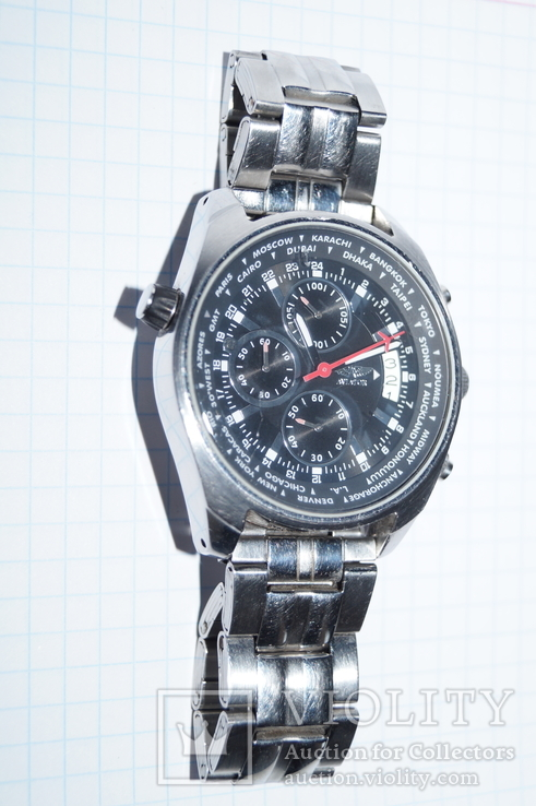 Часы для лётчиков AVIATOR Traveller Collection., фото №3