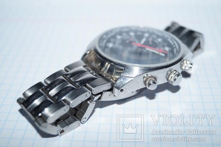 Часы для лётчиков AVIATOR Traveller Collection., фото №6