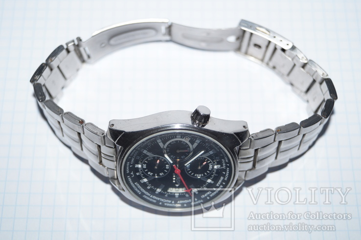 Часы для лётчиков AVIATOR Traveller Collection., фото №9