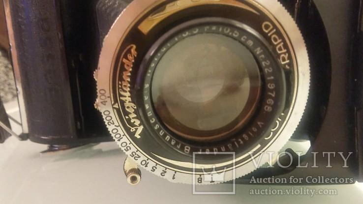 Фотоаппарат Voigtlander Bessa rapid 30-е годы., фото №5