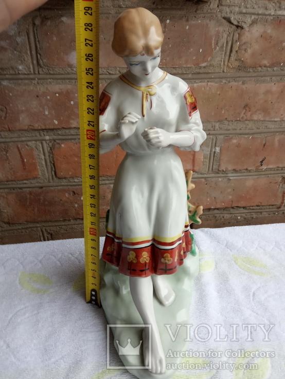 Девушка с ромашкой СССР, Полонное, фото №6