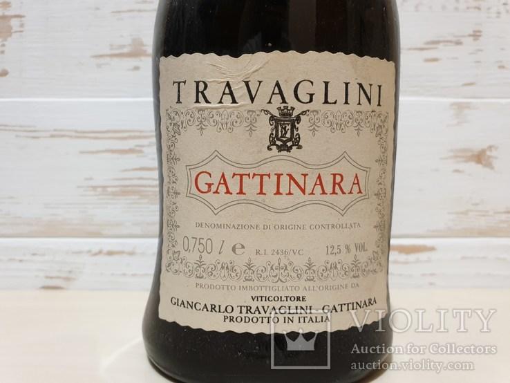 1981 Travaglini Gattinara 0.750L  12.5%vol., фото №3