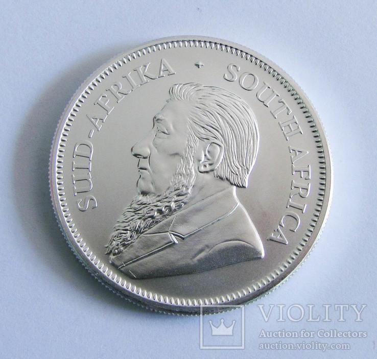 2019 ЮАР Крюгерранд, серебро, 1 унция, фото №3