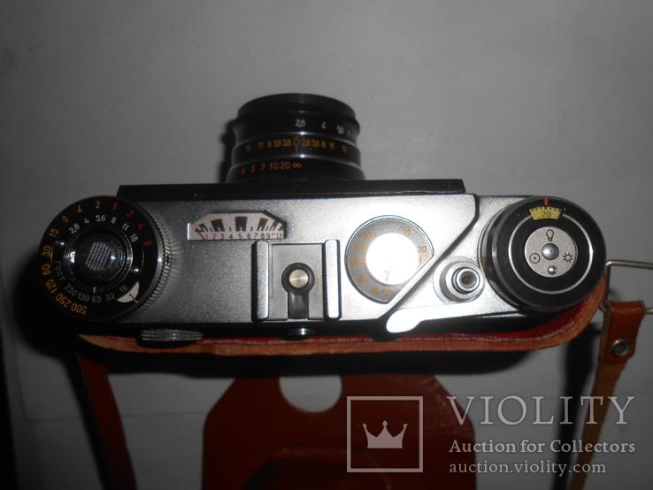 Фотоаппарат ФЭД 5в И-61 л/д 2,8/53 №9481694, фото №3