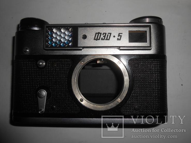 Фотоаппарат ФЭД 5в И-61 л/д 2,8/53 №9481694, фото №5