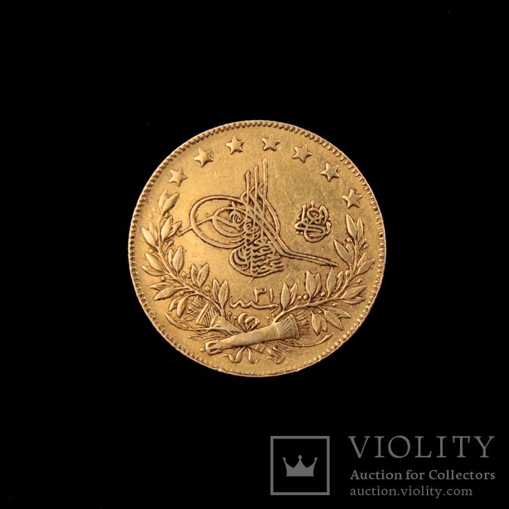 Золотая монета 100 Куруш Османская империя