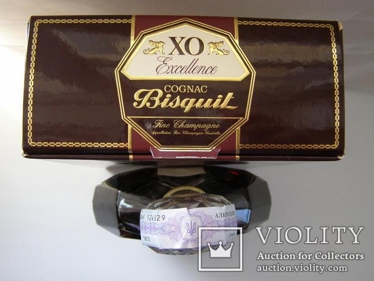 Коньяк Bisquit XO 0.7 литра 2006г, фото №13