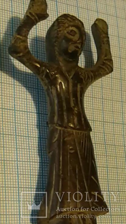 Фигурка средневековая ''Лиможский'' стиль 15-16 в.в.