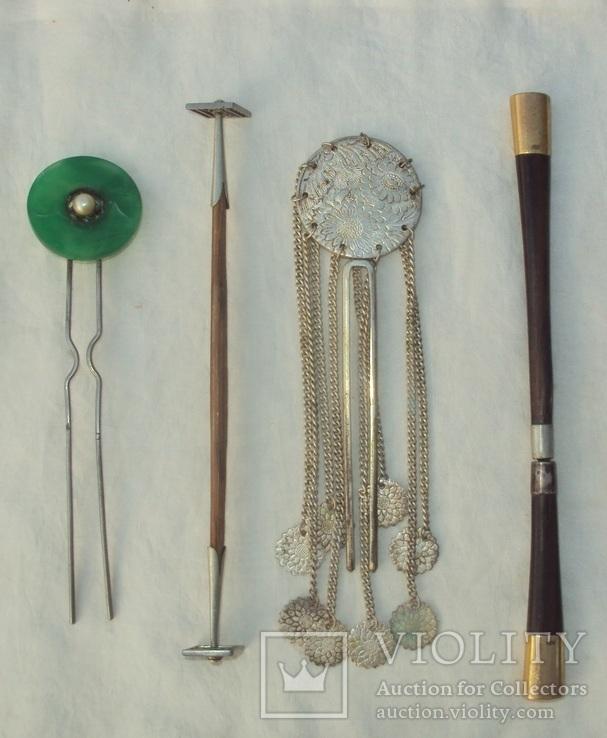 Японские шпильки для волос, 19-й век., фото №3