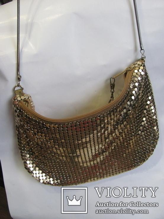 Вечерняя сумочка (кольчужка), фото №3