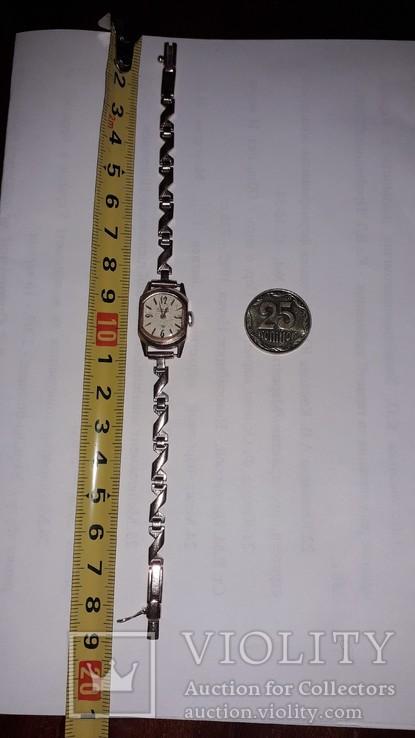 Часы золотые Слава 17 камней, фото №4