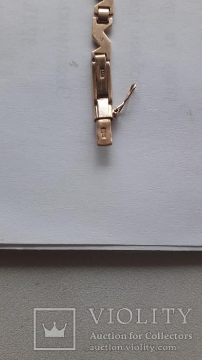 Часы золотые Слава 17 камней, фото №9