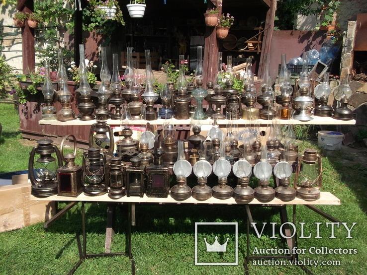 Коллекция керосиновых ламп и фонарей, фото №2