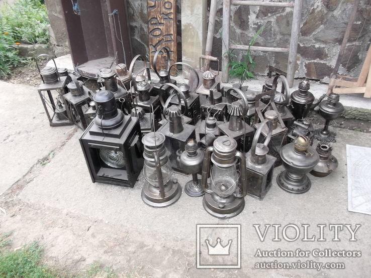 Коллекция керосиновых ламп и фонарей, фото №11