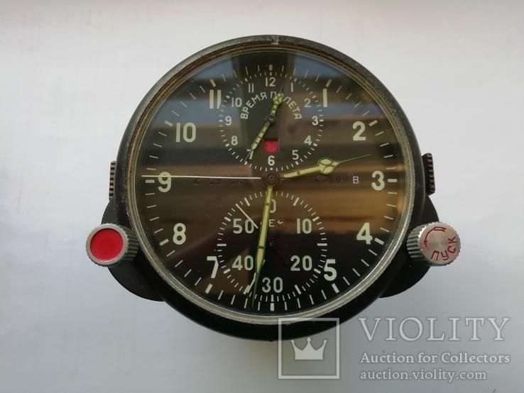 Часы авиационные АЧС-1, с паспортом., фото №2