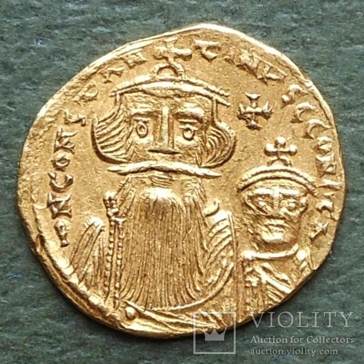 Византия: Констант II (641-668) солид